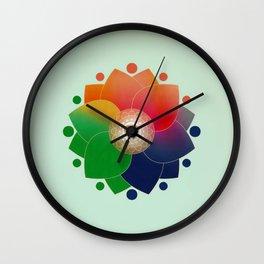 Harmony - Ayurveda Clock Minimal Alternative Wall Clock