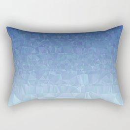 Blue Ombre - Flipped Rectangular Pillow