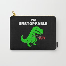 I am unstoppable   Dinosaur Tyrannosaurus Rex Carry-All Pouch