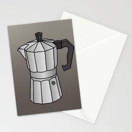Espresso coffee maker Stationery Cards