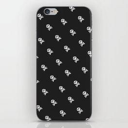 Skulls and bones iPhone Skin