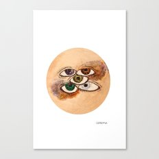 EyesScope Canvas Print