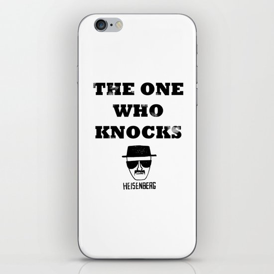 Heisenberg - The One Who Knocks iPhone & iPod Skin