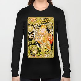 Marguerite's Bower, Mucha Long Sleeve T-shirt