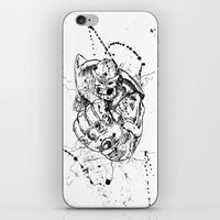 thanos iPhone & iPod Skins featuring Big Thanos by Caos Store