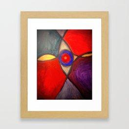 Stained Eye Framed Art Print