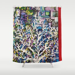 Sea Tree Shower Curtain