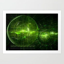 Navigate Art Print