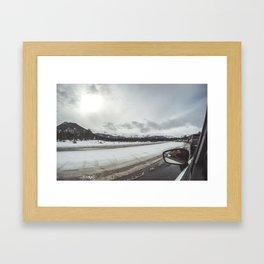 Bear Lake Colorado Framed Art Print