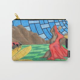 Mountain and The Ladybug Carry-All Pouch