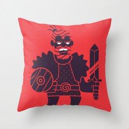 Barbarian Throw Pillow
