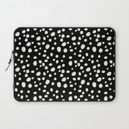 Black and White Dalmatian Laptop Sleeve