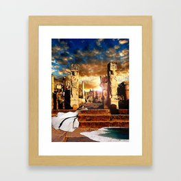 Altar of the Dawn Framed Art Print
