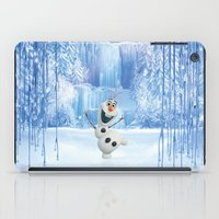 olaf iPad Cases featuring OLAF by Electra