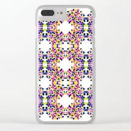 art smears pattern Clear iPhone Case