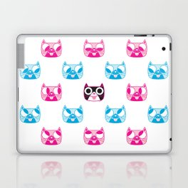 We are watching you. MEOW x 5 Laptop & iPad Skin