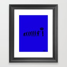 WTF? Evolution! Framed Art Print