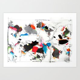 Tribute to Tinguely Art Print
