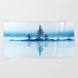 Yoho National Park, Canada Beach Towel