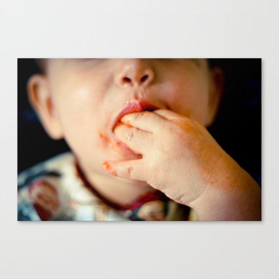 Time to Eat! Canvas Print