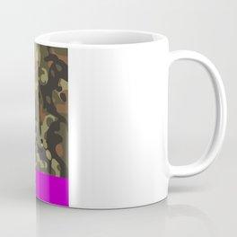 Magenta Fleck Tarn Camo Coffee Mug