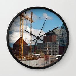 HAMBURG HARBOR SOUND Wall Clock