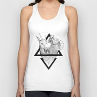 twins Tank Tops featuring TWINS by lolklos