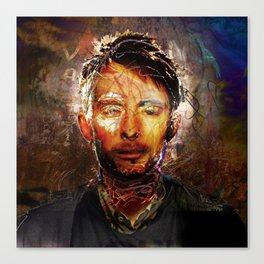 The Portrait Eraser (Thom Yorke) Canvas Print