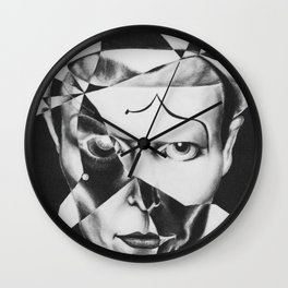 The Mime Wall Clock