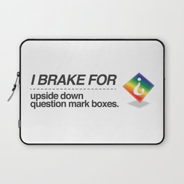 Brake for Boxes Laptop Sleeve