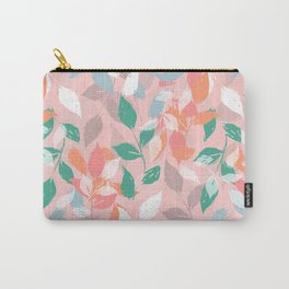 Pretty foliage brush paint design Carry-All Pouch