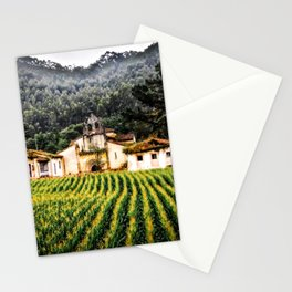Abandoned monastery, Spain. Stationery Cards