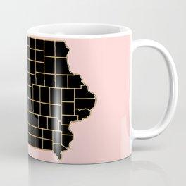 Iowa map Coffee Mug