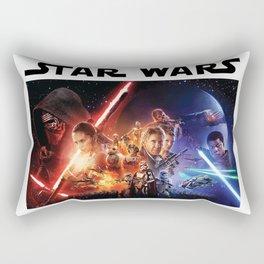 Star Wars VS Rectangular Pillow
