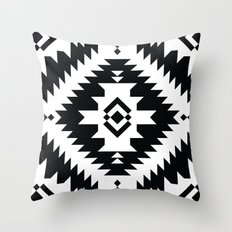 NavNa BW Throw Pillow