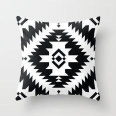 NavNa BW Throw Pillow