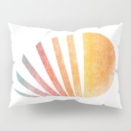 Raising sun (rainbow-ed) Pillow Sham