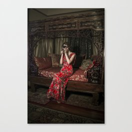 Portrait Of Artist Canvas Print