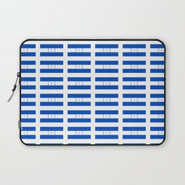 Flag of Honduras 2 -honduran,catracho,tegucigalpa,punta. Laptop Sleeve