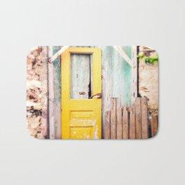 Yellow Door  Bath Mat