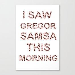 Gregor Canvas Print