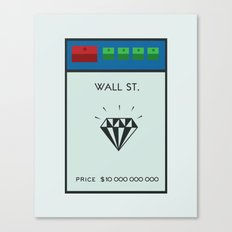 Occupy Wall Street? Canvas Print