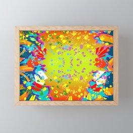 GRAFF EXPLOSION Framed Mini Art Print