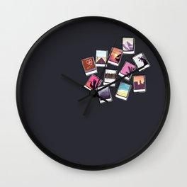 Instant Film Photos I Wall Clock