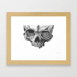 Skull 101 Framed Art Print