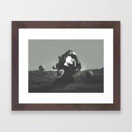 Orbits Framed Art Print