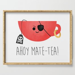 Ahoy Mate-tea! Serving Tray