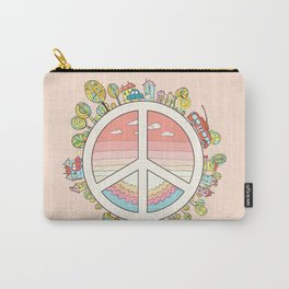 peaceful bright Pacific planet Carry-All Pouch