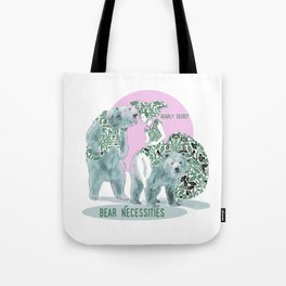 Bear Necessities #1a Bearly Secret Tote Bag