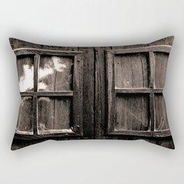 Ventana al pasado Rectangular Pillow